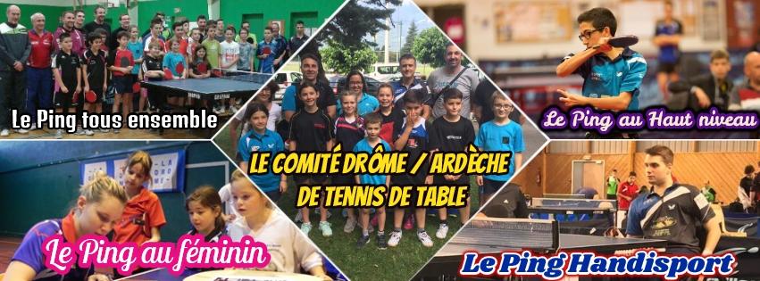 Comité Drôme Ardèche de Tennis de Table